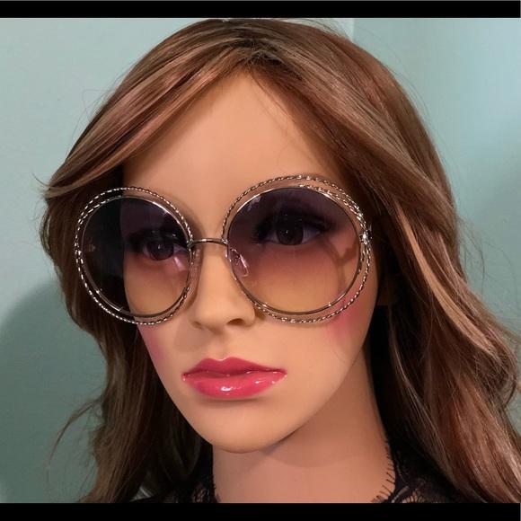 0301d22c49 Chloé Carlina Twist SunglassesCE114ST Gold/Rainbow Boutique